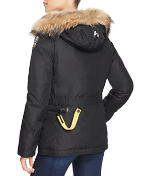 ... Parajumpers - Doris Mixed Fur Trim Down Coat