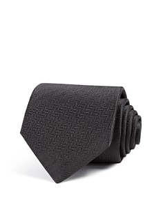 Eton of Sweden Herringbone Classic Tie - Bloomingdale's_0