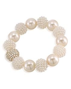 Carolee - Simulated Pearl Beaded Bracelet