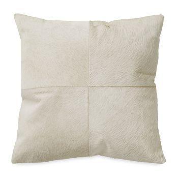 """Donna Karan - Calf Hair Decorative Pillow, 18"""" x 18"""" - 100% Exclusive"""