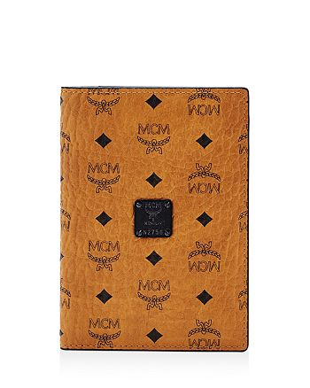 MCM - Visetos Passport Holder