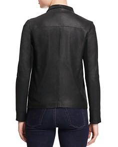 BB DAKOTA - Kenrick Draped Leather Coat