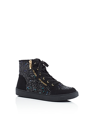 9266108d17901a ... (Little Kid Big UPC 887407807735 product image for Sam Edelman Girls  Britt  Roxy Glitter High Top Sneakers ...
