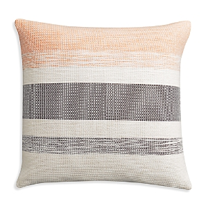 cupcakes and cashmere Dotted Medallion Multi Stripe Decorative Pillow 18 x 18