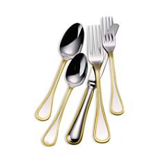 Couzon Le Perle Gold Accent 5-Piece Place Setting - Bloomingdale's Registry_0
