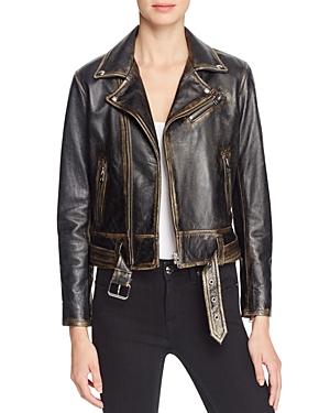 Iro. jeans Wynter Leather Moto Jacket