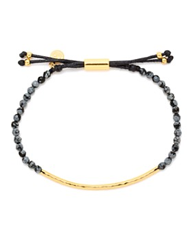 Gorjana - Gold-Tone Stone Beaded Bracelet