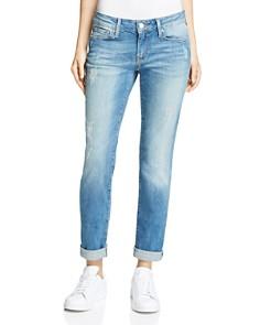 Mavi - Emma Slim Boyfriend Jeans in Mid Shaded Vintage