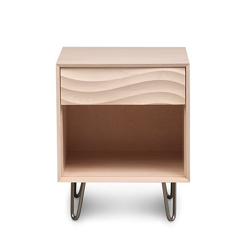 Bloomingdale's Artisan Collection - Wave Nightstand