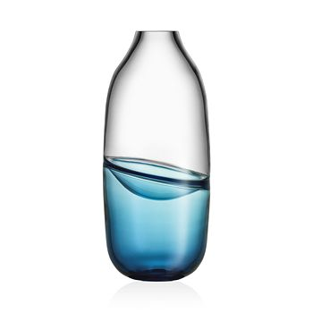 Kosta Boda - Septum Blue Vase