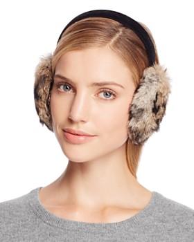 Surell - Rabbit Fur Ear Muffs