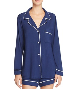 Eberjey Gisele Long Sleeve Short Pajama Set - Bloomingdale's_0