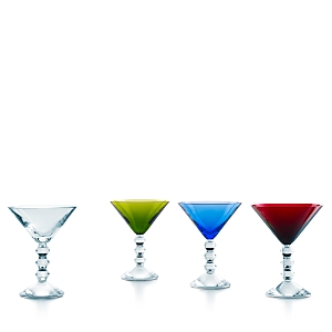 Baccarat Vega Martini Glass, Set of 4