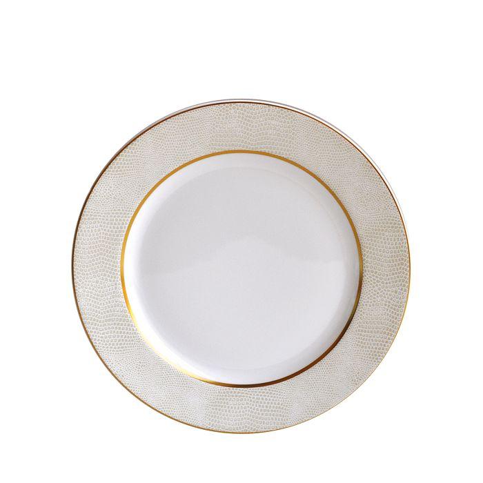 Bernardaud - Sauvage White Salad Plate
