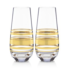 kate spade new york Hampton Street Stemless Champagne Flute, Set of 2 - Bloomingdale's_0