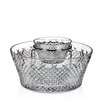 Waterford - House of  Crystal Alana 60th Anniversary Caviar Server