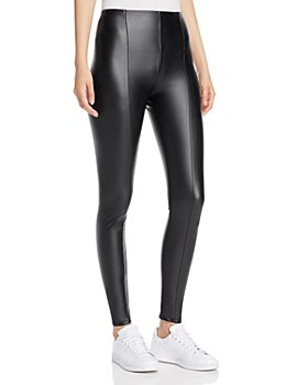 Lyssé - High Waist Faux Leather Leggings