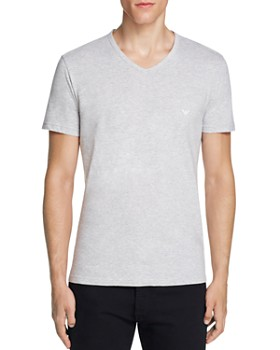 Emporio Armani - Pure Cotton V-Neck T-Shirts - Pack of 3