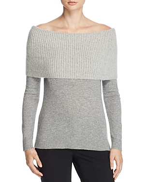 Theory Afina Off-the-Shoulder Sweater - 100% Exclusive