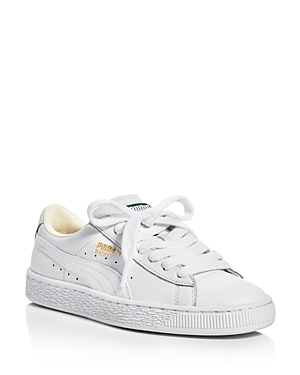 Puma Women's Basket Classic Lace Up Sneakers