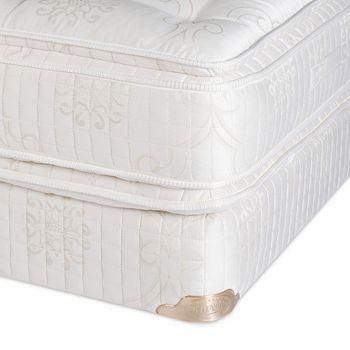 Shifman - Heritage Plush Pillow Top Twin Mattress & Box Spring Set - 100% Exclusive