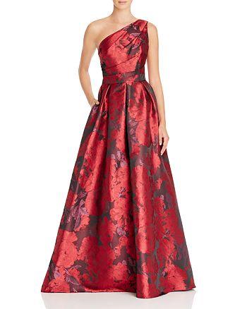 Carmen Marc Valvo - One Shoulder Gown