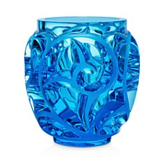Lalique - Tourbillon Light Green Vase