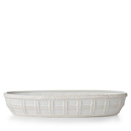 Juliska - Le Panier Whitewash Bread Basket