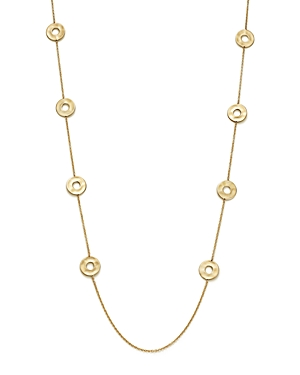 Ippolita 18K Yellow Gold Senso Open Disc Station Necklace, 37