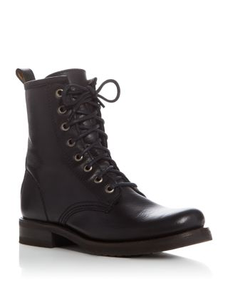 FRYE Women'S Veronica Combat Booties Women'S Shoes in Black