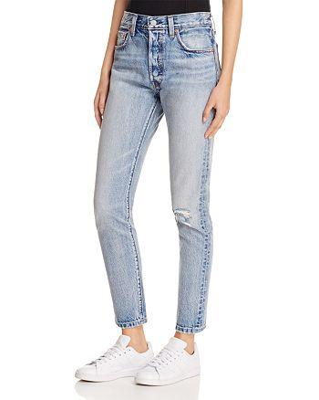 Levi's - 501® Selvedge Skinny Jeans in Summer Dune