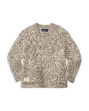 Ralph Lauren Childrenswear Girls Marled Cable Sweater  Sizes 26X