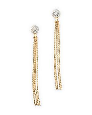 Diamond Tassel Drop Earrings in 14K Yellow Gold, .25 ct. t.w. - 100% Exclusive