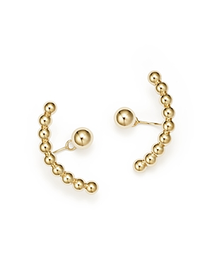 Ball Stud Ear Jackets in 14K Yellow Gold - 100% Exclusive