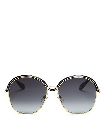 Givenchy - Women's Oversized Round Sunglasses, 58mm