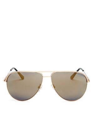 Tom Ford Mirrored Erin Sunglasses, 61mm
