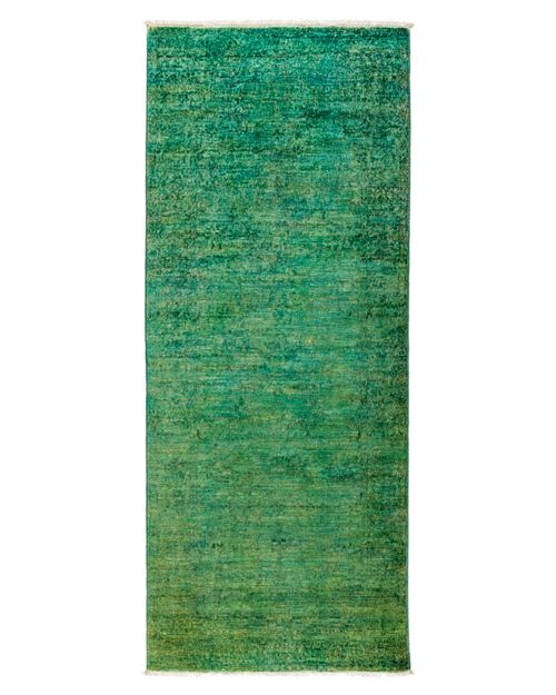 """Solo Rugs - Vibrance Overdyed Area Rug, 3'1"""" x 7'10"""""""