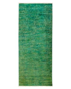 Solo Rugs Vibrance Overdyed Area Rug, 3'1 x 7'10