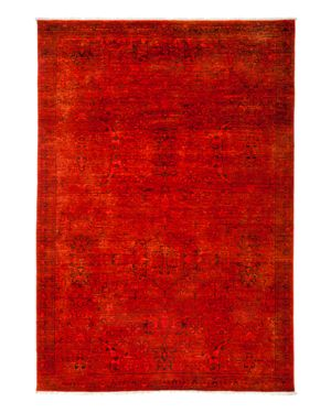 Solo Rugs Vibrance Overdyed Area Rug, 6' x 8'6