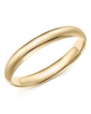 14K Yellow Gold Polished Bangle - 100% Exclusive