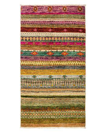 "Solo Rugs - Tribal Oriental Area Rug, 3' x 5'4"""