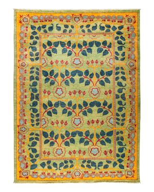 Solo Rugs Suzani Oriental Area Rug, 9'8 x 13'3