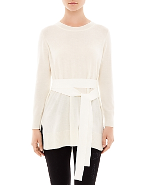 Sandro Coline Belted Sweater
