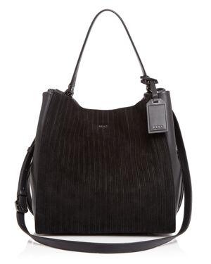 Dkny Suede Bucket Bag