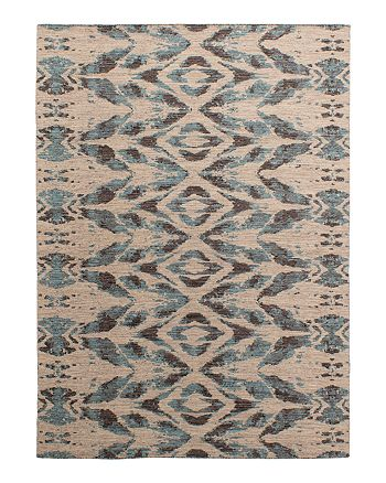 Lillian August - Cosmic Glow Flatweave Collection - Blue/Gray
