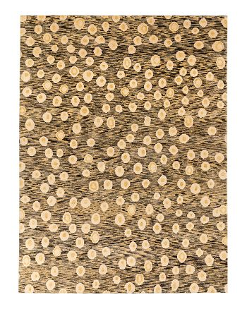Lillian August - L'Oeuf Area Rug - Gray/Yellow, 6' x 9'