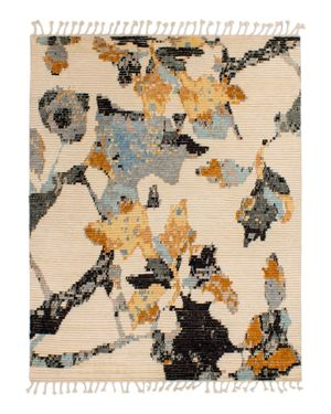 Grit & ground Moroccan Floral Area Rug, 6' x 9'