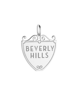 Jet Set Candy Beverly Hills 90210 Sign Charm