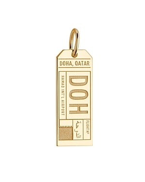 Jet Set Candy Doh Doha Qatar Luggage Tag Charm