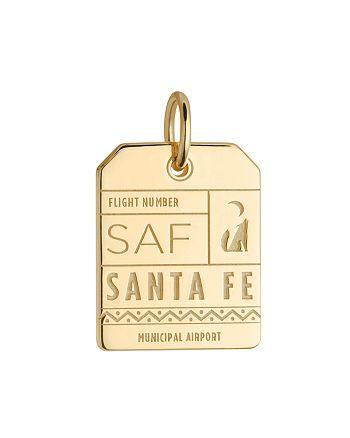 Jet Set Candy - SAF Santa Fe New Mexico Luggage Tag Charm